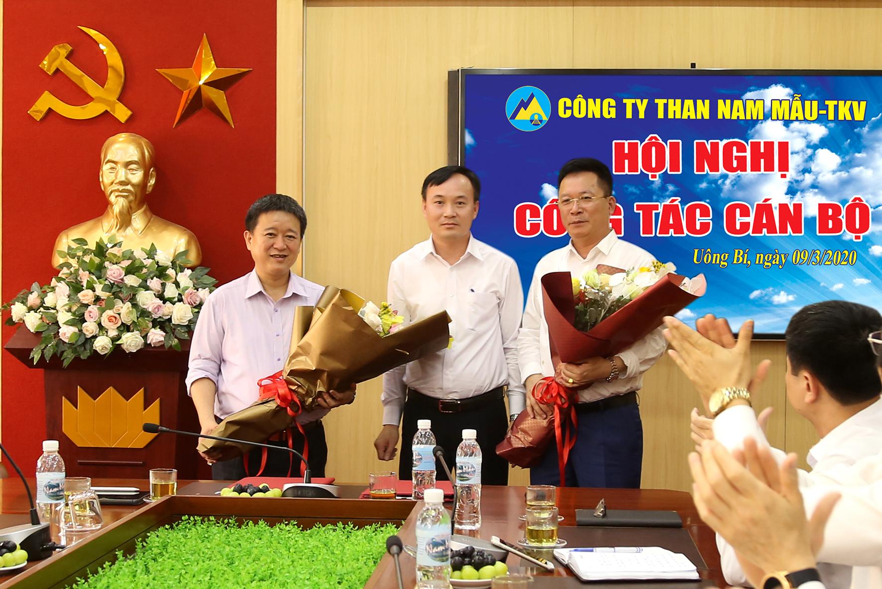 Đồng chí Nguyễn Văn Yên chính thức đảm nhận chức vụ Giám đốc công ty Than Nam Mẫu từ ngày 10/3/2020 (1)