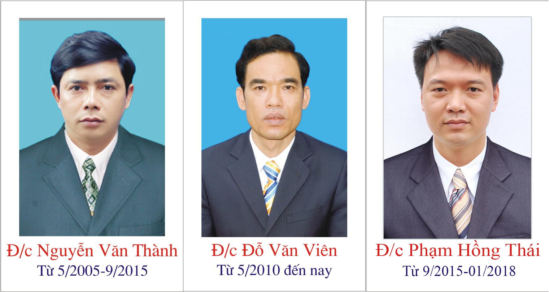 Phó Giám đốc các thời kỳ