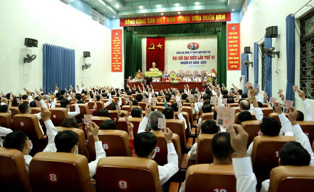 Than Nam Mẫu tổ chức thành công Đại hội Đảng bộ Công ty lần thứ VI, nhiệm kỳ 2020-2025 (1)