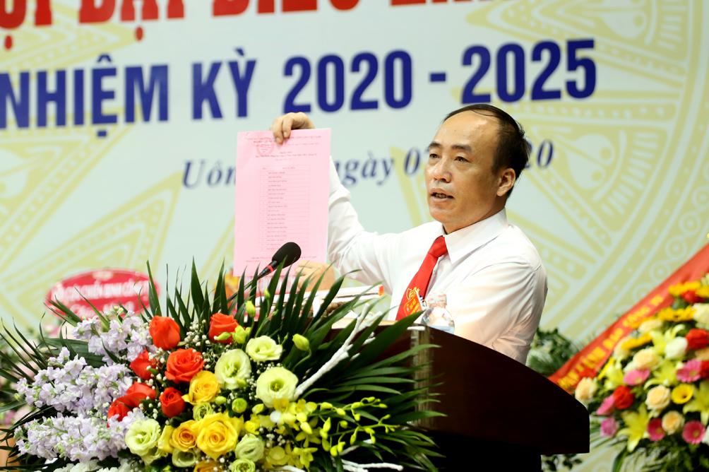 Than Nam Mẫu tổ chức thành công Đại hội Đảng bộ Công ty lần thứ VI, nhiệm kỳ 2020-2025 (5)