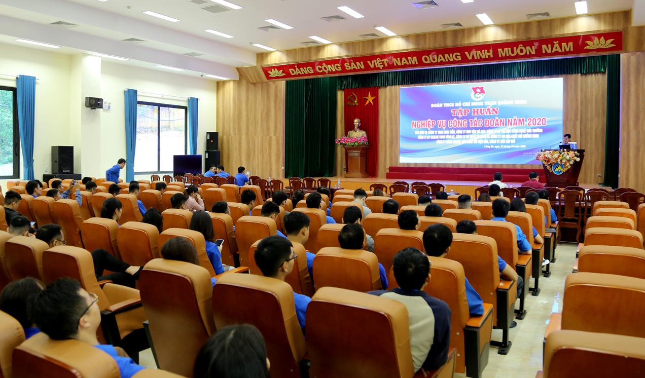 Đoàn Than Quảng Ninh tổ chức tập huấn nghiệp vụ cho cán bộ Đoàn cơ sở năm 2020 (1)