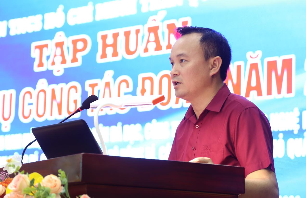 Đoàn Than Quảng Ninh tổ chức tập huấn nghiệp vụ cho cán bộ Đoàn cơ sở năm 2020 (2)